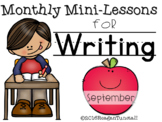 Writing Mini-Lessons August/September Second Grade