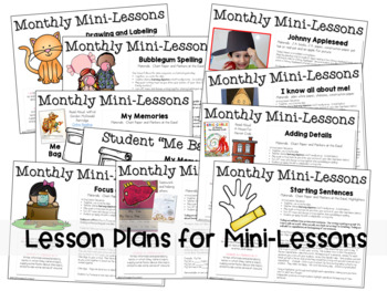 Writing Mini-Lessons August/September Second Grade