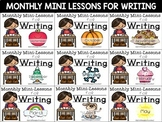 First Grade Writing Mini-Lessons Bundle