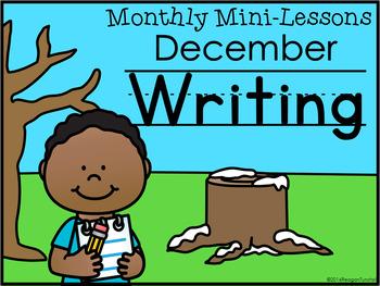 Writing Mini-Lessons December Kindergarten