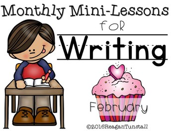 Writing Mini-Lessons February Second Grade