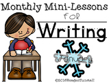 January Writing Mini-Lessons