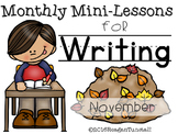 Writing Mini-Lessons November