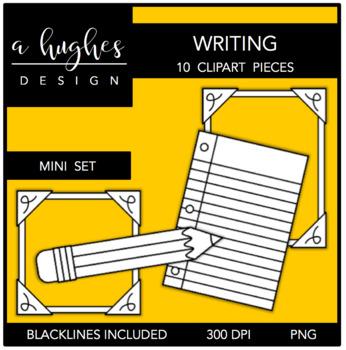 Writing Mini Clipart Set {A Hughes Design}