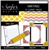 Writing Mini Clipart Set {A Hughes Design}
