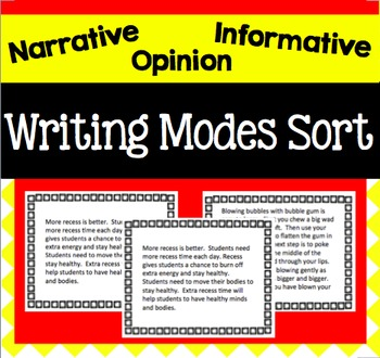 Writing Modes Sort