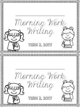 Writing Morning Work