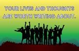 Writing Motivation Poster