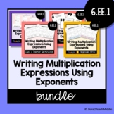Writing Multiplication Expressions Using Exponents | Digit