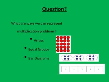 Writing Multiplication Stories