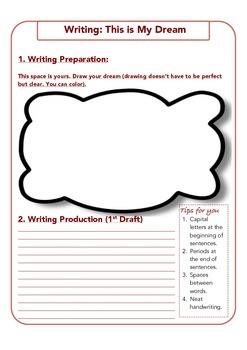 Writing: My Dream