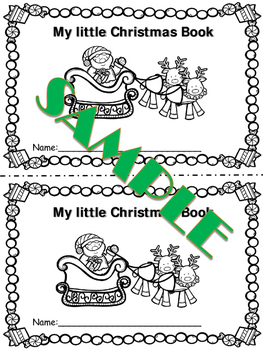 Writing: My little Christmas book