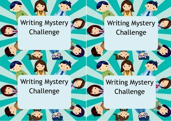 Writing Mystery Challenge