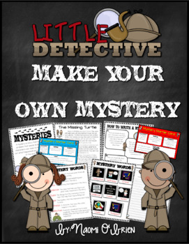 Writing Mystery Stories Notebook and Activities