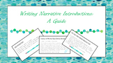 Writing Narrative Introductions Mini Lesson