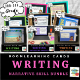Writing Narrative Skills Bundle- Boom Cards- Distance Learning