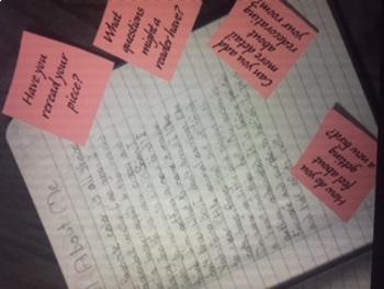 Writing Narratives/Selecting Topics/Crafting while keeping students interacting!