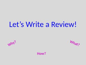 Writing Negative Reviews
