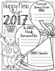 New Years' Goal Writing {Three Writing Options}