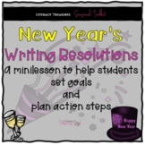 New Year's 2021  Writing New Year's Resolutions -- A Goal