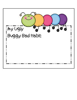 Writing New Year's Resolutions - Changing an Ugly Buggy Bad Habit