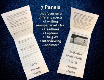 Writing Newspaper Articles—The Language Arts Flip Book Series