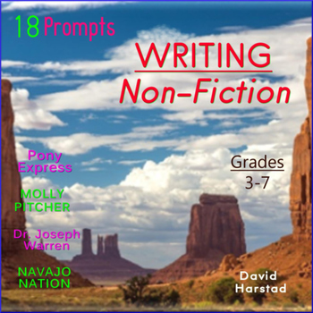 Writing Non-Fiction: 18 Printable Prompts (Grades 3-7)