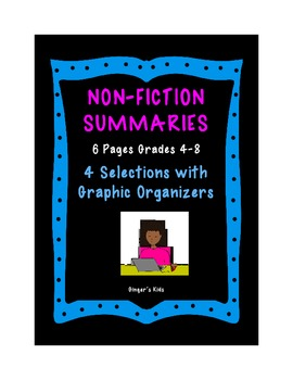 Writing Non-Fiction Summaries