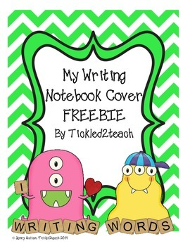 Writing Notebook Cover Freebie