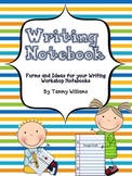 Writing Notebook for Writer's Workshop