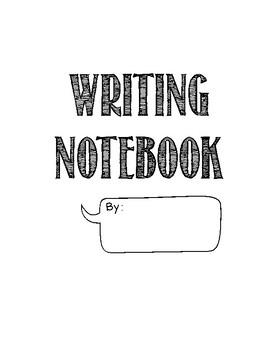 Writing Notebooks Anchor Chart