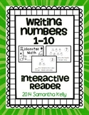 Writing Numbers 0-10 Interactive Reader