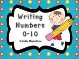 Writing Numbers 0-10