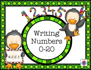 Writing Numbers 0-20