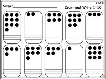 Writing Numbers 0-20: An Activeboard Center Activity