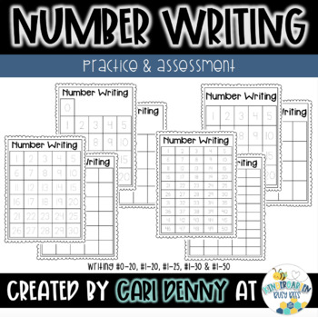 Writing Numbers 0-20: Practice & Assessment
