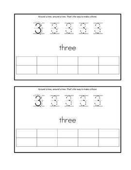 Writing Numbers 0-5