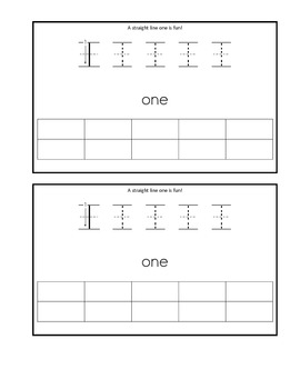 Writing Numbers 0-5