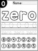 Number Recognition 0-9 - Number Sense Worksheets - Color,