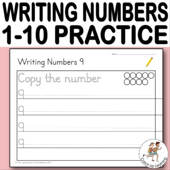 FREE! Writing Numbers 1-10