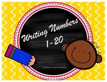 Writing Numbers - 1-20