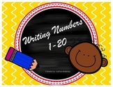 Writing Numbers - 1-20