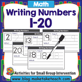 Writing Numbers 1 - 20