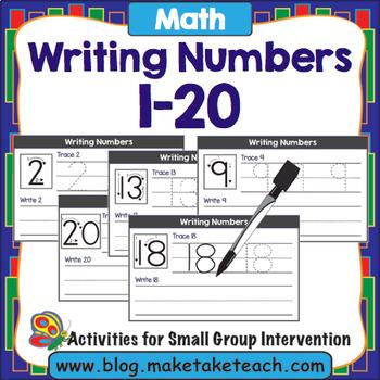 Writing Numbers 1 - 20