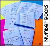 Number Books! Writing Numbers in Word Form and More for Kindergarten & 1st