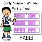 Writing Numbers FREE
