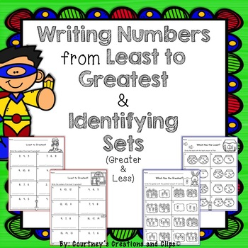 Writing Numbers from Least to Greatest & Identifying Sets Differentiated*