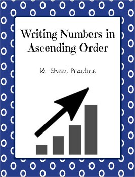 Writing Numbers in Ascending Order