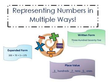 Writing Numbers in Multiple Ways