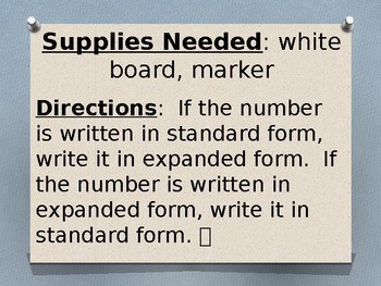 Writing Numbers to 1,200 in Standard and Expanded Form